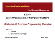 Unit11-SystemProgramming-EE357-Nazarian-Fall09