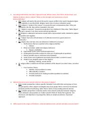 Study Guide and Answers for Exam 1.docx