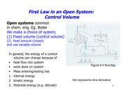 Law in Open Systems with Turbine