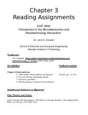 chapter 3 reading assignments.doc