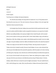 AP English Literature oedipus essay.docx