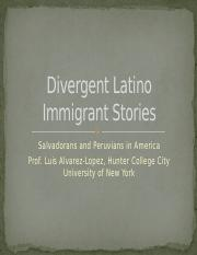 Divergent Latino Immigrant Stories Salvadoreans and Peruvians.pptx