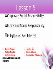 Lesson 5 Corporate Social Responsibility.pptx