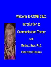 haun comm 1302 Study comm 1302 test 3 terms flashcards at proprofs - list of terms for comm 1302 test 3.