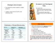 L6 geological time (slides)