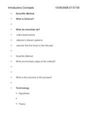 exam 1 material