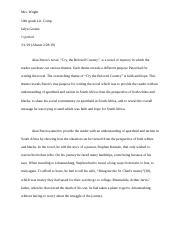 Description of a bedroom essay