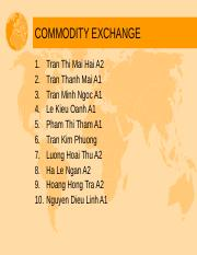 Commodity Exchange.ppt