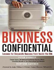 Business Confidential- Peter Earnest & Maryann Karinch.pdf