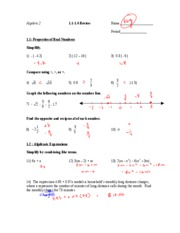 1.1-1.4 QUIZ REVIEW key