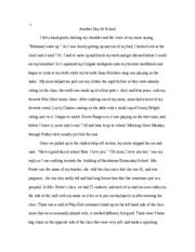 english description essay