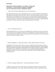 Worksheet 3 Ben Pankin