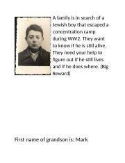 Name of grandson is given