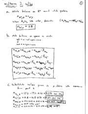 midterm2 2008 solutions