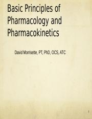 Pharmacology General Principles Part 1