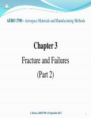 Chapter 3 - Fracture and Failure (part 2)