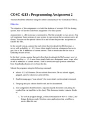 CSE 4213 Assignment 2