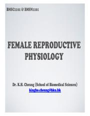L34 - Introduction to female reproductive physiology (Dr. KH Cheung) [20161101].pdf