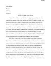 Charlotte Perkins Gilman Assignment Docx 1 Describe The