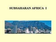 Global Geography Norwood Lecture  Sub-Sahara Africa I a.