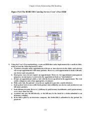 ERD-Cases-Solutions - Chapter 4 Entity Relationship(ER Modeling