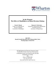 In the Moment - The Effect of Mindfulness on Ethical Decision-Making.pdf