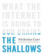 The Shallows - Carr, Nicholas.pdf