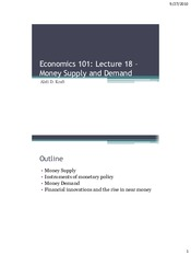 Economics_101_Lecture_18_Money_Supply_and_Demand.pdf