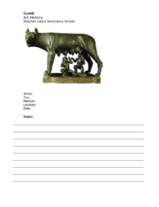 Notes Template- she wolf sh
