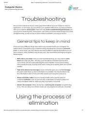 Basic Troubleshooting Techniques Tutorial at GCFLearnFree.pdf