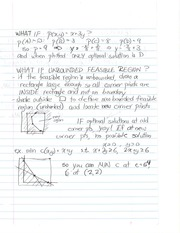 Study Guide on Linear Programming