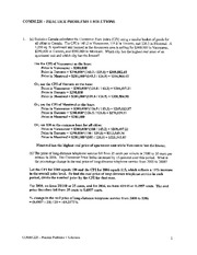 COMM220 Practice Problems 1 - Solutions