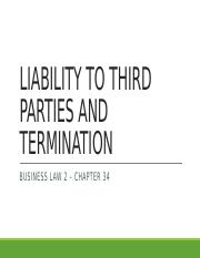 34 - Liability to Third Parties and Termination (No Notes).pptx