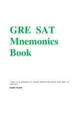 GRE Words with Mnemonics PDF/apk GRE