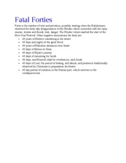 Fatal Forties