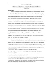 POL 487H1 Research Paper Rough Copy