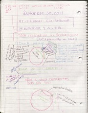 BIO- September 30 Lecture notes