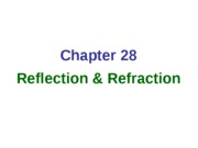 Chap28_Reflection_Refraction