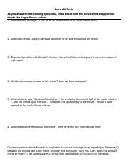 Beowulf Movie Questions and Essay.pdf