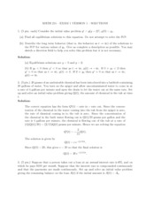 Exam Solutions (1)