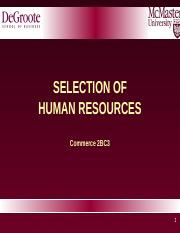2BC3 2016 Lecture 5b - Selection - rev.ppt