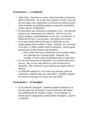 Spanish Oral 2 Notes