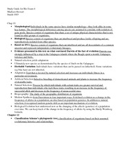 Study Guide- Final