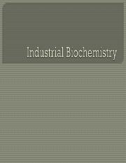 Fermentation Biochemistry and Culture Improvement