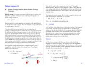 Notes -- Lecture 11