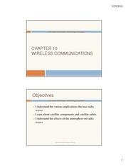 Ch.10 - Wireless Communications