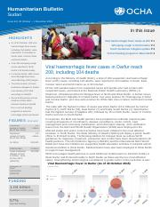 OCHA_Sudan_Weekly_Humanitarian_Bulletin_Issue_44_(26_October_-_1_November_2015)