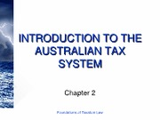 2 Introduction to the Australian Tax System[ppt]