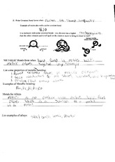 Chemistry, Colavent bonds & metallic bonds worksheet