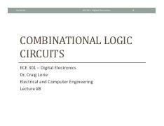 Lecture 8 - Combinational Logic Circuits.pdf